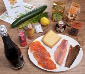 Die Picknick-TastyBox im Juli (Foto: foodieSquare)