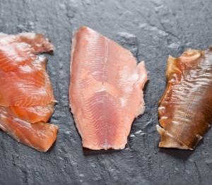 kaltgeräucherte Lachsforelle (Foto: foodieSquare)