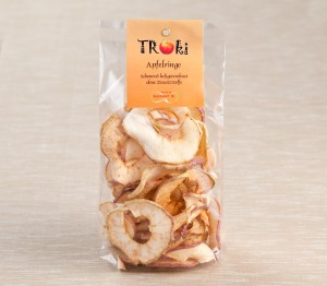"getrocknete Apfelringe ""Troki"" (Foto: foodieSquare)"