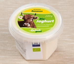 """Bio Joghurt der Sennerei """"Oyfach guat"""" (Foto: foodieSquare)"""