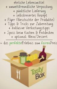 Die TastyBox: Mehr als die Summe ihrer Teile! (Bild: foodieSquare)