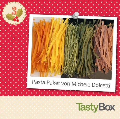 Leckere Geschenkidee: Pasta Paket von Michele Dolcetti