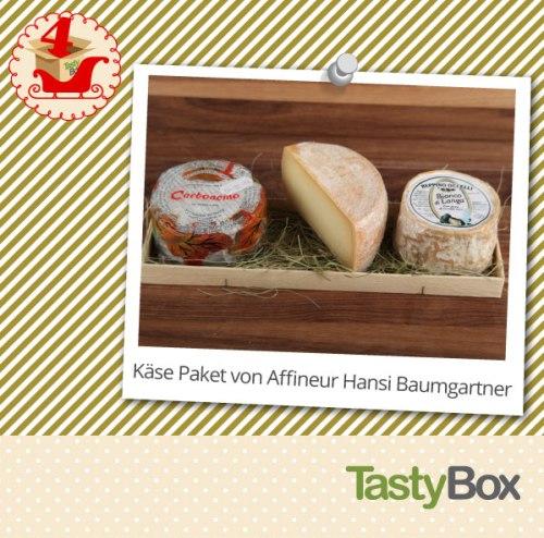 Leckere Geschenkidee: Käse Paket von Affineur Hansi Baumgartner