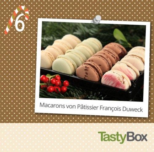 16 zart-schmelzende Macarons von François Duweck